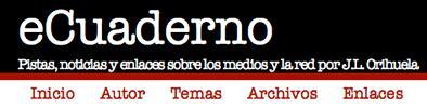 cabecera del blog ecuaderno.com de Jose Luis Orihuela