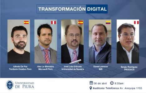 Conferencia Transformacion Digital en Lima
